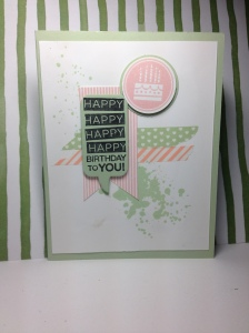 Stampin out Autism card