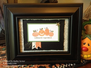 Halloween Happiness picture frame 2015